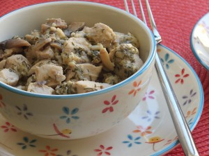 куриное филе с грибами и сыром1