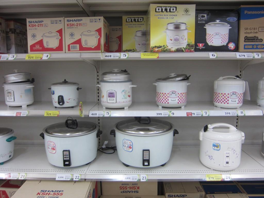 рисоварки разные