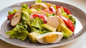 Вкусный салат красоты и стройности