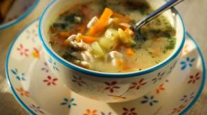 Быстрый и вкусный гороховый суп за 20 минут
