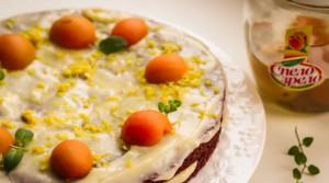 Шоколадно-абрикосовый торт для тонкой талии (без муки и масла)