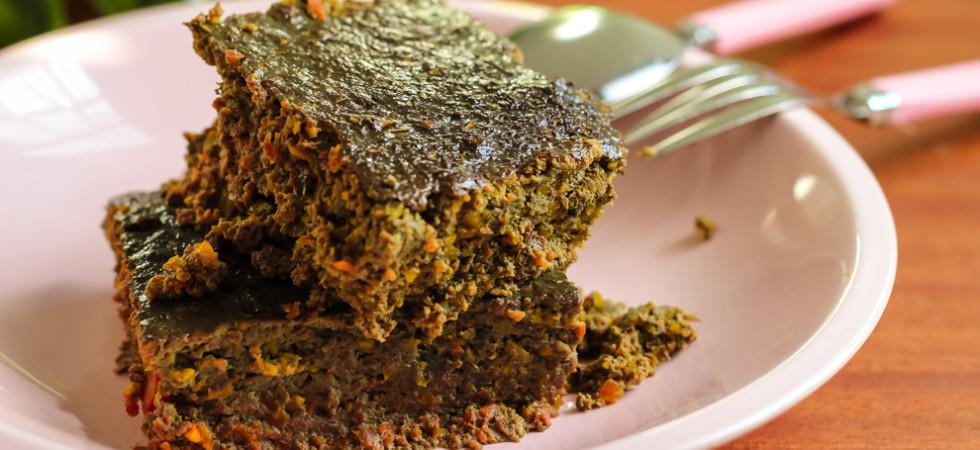 домашний паштет-пирог из говяжьей печени