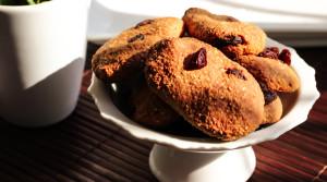 Диетическое овсяное печенье с творогом и бананом