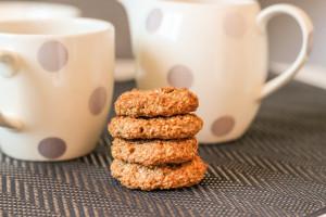 диетическое овсяное печенье без муки