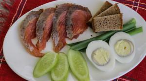 Быстрая рыбная тарелка «Закуска моряка»