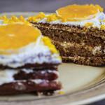 низкокалорийные десерты - морковный торт