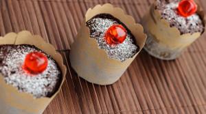 Шоколадные кексы «Минутка» без муки и без масла