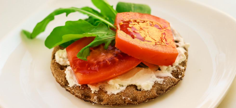 полезный диетический бутерброд