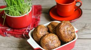 Творожные булочки с отрубями и прованскими травами