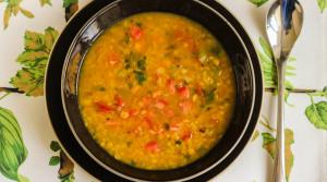 Масурдал — пряный индийский суп из красной чечевицы