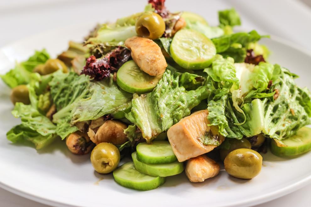 низкокалорийный салат