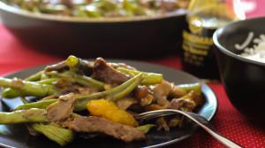 Говядина с овощами в китайском стиле