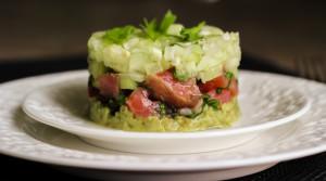 Тартар из лосося — легко готовить, вкусно есть!