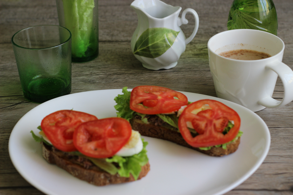 диетический бутерброд