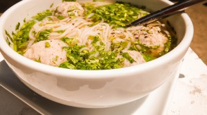 Сборный суп с куриными фрикадельками » Аромат Пекина»
