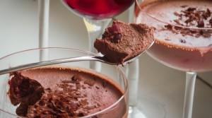 «Пьяный» десерт для романтического ужина