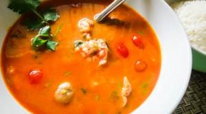 Самый вкусный тайский суп том-ям-кунг