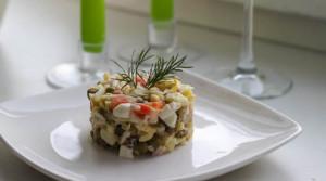 Салат «Оливье» для новогодней ночи