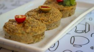 Творожно-тунцовые маффины — отличный перекус!