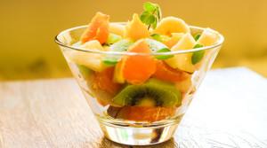 Диетический фруктовый салат