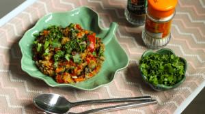 Чечевица тушеная с овощами — вегетарианская вкуснятина!