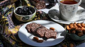 Шоколадно-овсяное печенье без муки и выпечки