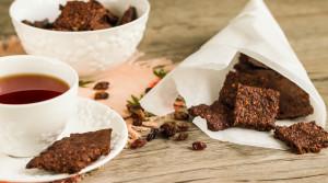 Супер-полезное домашнее печенье с сухофруктами и орехами