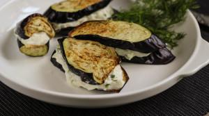 Баклажаны-гриль с сыром